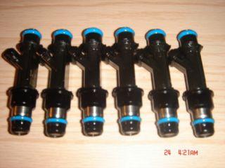 02 04 GMC Envoy Isuzu Ascender 4 2 Fuel Injectors Set 25313185