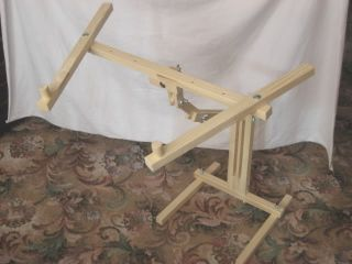 ITA CROSS STITCH FLOOR STAND FOR LARGE FRAMES, tapestry, needlework