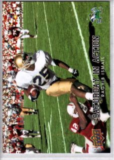 Raghib Ismail 2011 Upper Deck Saturday in Action 3