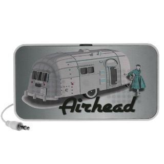 Airhead Vintage Travel Trailer Mp3 Speaker