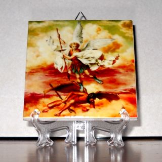 Archangel Ceramic Tile High Quality Hand Made from Italy Mod 1