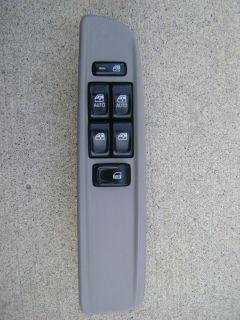 02 05 GMC Envoy XL Sle 4 2L Isuzu Ascender Master Power Window Switch