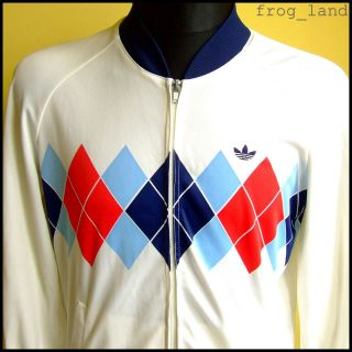 Vtg Mens Ivan Lendl Adidas Tracksuit Top M Medium Tennis Jacket 80s