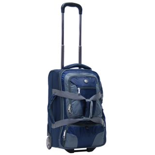 20 Rolling Carry on Luggage Wheeled Duffel Bag Backpack Travel