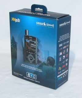 XMp3i Portable Car Home Sirius Satellite Radio Receiver MP3 Kit