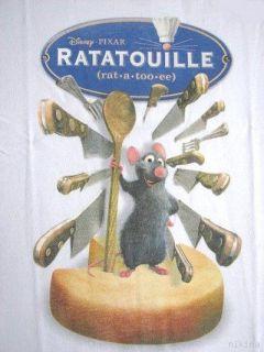 Disneys Ratatouille Remy White Tee T Shirt 4