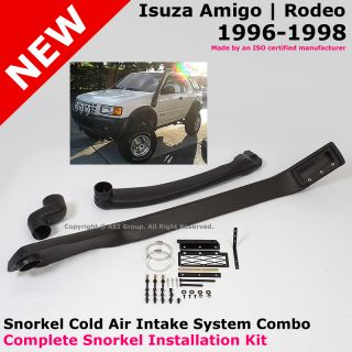Isuzu Amigo / Rodeo 96 98 High Mounted Snorkel Cold Air Ram Intake