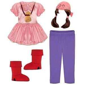 Izzy Costume Set Jake in The Never Land Pirate Halloween