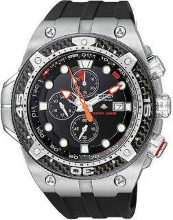 Citizen Eco Drive Chronograph Promaster Rubber Mens Watch BJ2135 00E