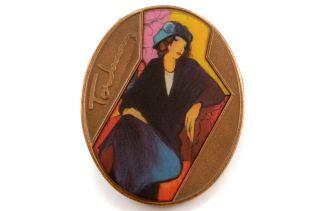 Isaac Itzhak Tarkay Israeli Art Bronze Medal 0417 5760