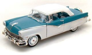 1956 Ford Fairlane Sunliner ~ Continental Kit ~ blue / white tutone