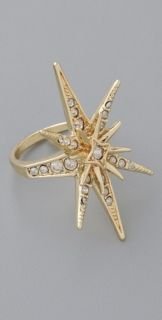 Belle Noel Pave Star Ring