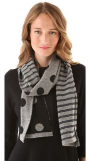 Marc by Marc Jacobs Clara Dot Sweater Scarf