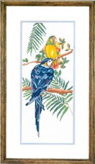 Treasures Counted Cross Stitch Kit Polly and Pedro Sale 02638