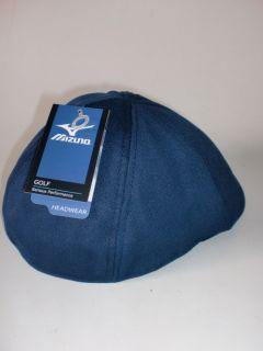 New Mizuno Golf 2012 Ivy Flex Fit Sports Cap Hat Black Navy White