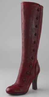 Frye Matilda Button Tall Boots