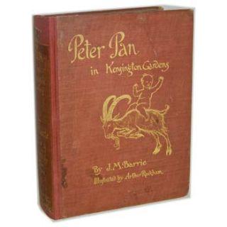 Pan in Kensington Gardens by J M Barrie and Arthur Rackham 1st