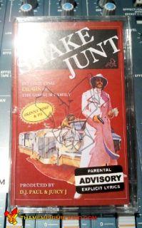 GIN SHAKE JUNT TAPE MEMPHIS RAP OG SKINNY PIMP 211 MVP DJ PAUL JUICY J