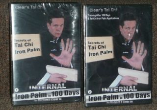 Palm in 100 Days 1 2 Secrets of Tai Chi by Richard Clear Jr DVD