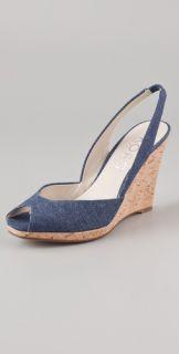 KORS Michael Kors Vivian Sling Back Cork Sandals