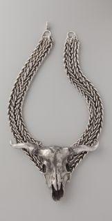 Haute Hippie Longhorn Necklace