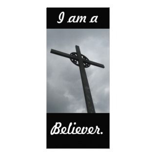 Believer Bookmark Custom Rack Card