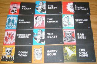 12 Jack Chick Tracts Christian Comics Mixed Lot