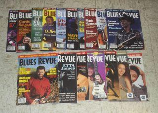 LOT 2 17 issues 2003 06 Etta James Solomon Burke Buddy Guy JJ Cale