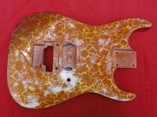 Jackson Guitar Body w Crackle Paint