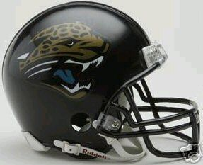 Jacksonville Jaguars NFL Replica Football Mini Helmet