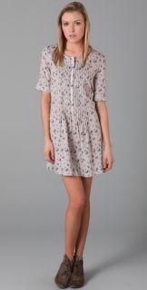 TEXTILE Elizabeth and James Tessa Floral Print Dress