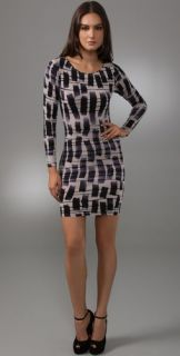 alice + olivia Dasha Long Sleeve Dress