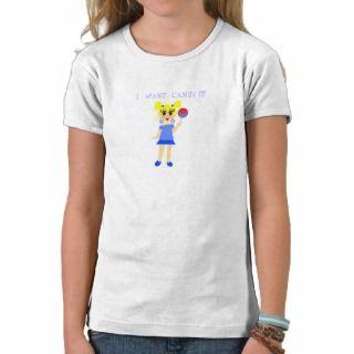 Quiero la camiseta del caramelo de