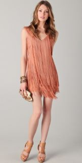 Haute Hippie Short Fringe Flapper Dress