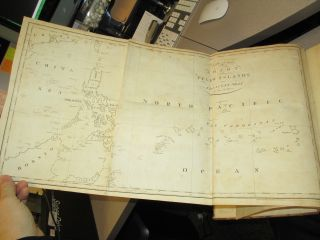 Jack Lord Estate Personal 1788 Keates Pelew Islands Book Maps 1803