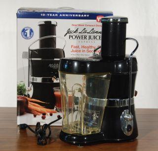 Jack Lalannes Power Juicer Express Black Extra Large Round Feeder