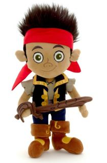 Disney Jr. Jake and the Neverland Pirates Stuffed Plush Doll 12 inch