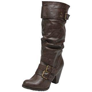 Madden Girl Hinge   HINGE BRN   Boots   Fashion Shoes