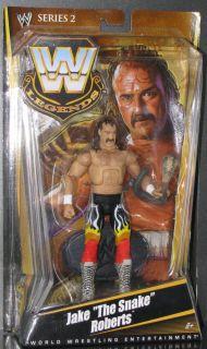 Mattel WWE Legends Series 2 Jake The Snake Roberts