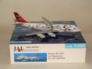 Herpa Wings JAL Disneyexpress B747 400 Friend 1 500