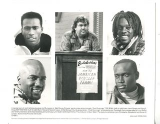 Cool Runnings 8 x 10 Sport Comedy Jamaican Bobsled Team John Candy