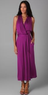 Diane von Furstenberg Avram Long Wrap Dress