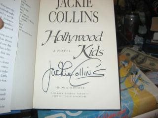 Hollywood Kids Signed by Jackie Collins 1st 1st 1994 Hardcover
