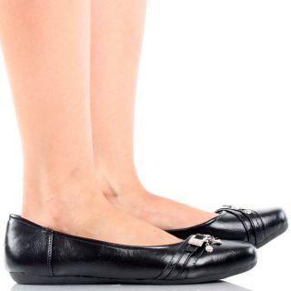 Rhinestone Buckle Flower Slip on Womens Ballet Flats Shoes 5