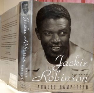 Jackie Robinson A Biography by Arnold Rampersad 1997 Hardcover