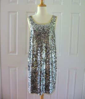 Crew Collection $275 Sequin Fete Dress 14 XL New 2011