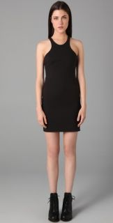 T by Alexander Wang Racer Back Jersey Dress