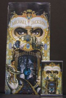 Michael Jackson Dangerous CD LONGBOX USA Sigillato 1° Stampa Assoluta