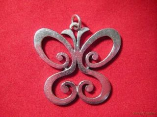 James Avery Sterling Spring Butterfly Pendant