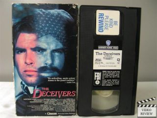 VHS Pierce Brosnan Shashi Kapoor Safeed Jaffrey 012569076730